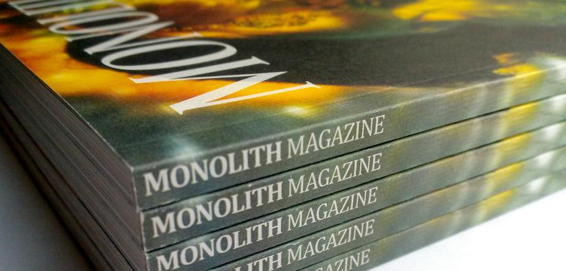 UK Magazine Printing   Monolith Magazine