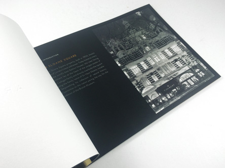 Luxury property brochure printing | UK delivery