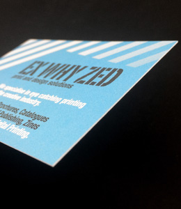 400gsm Uncoated Business cards