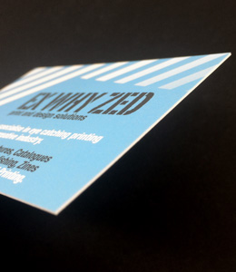 Small Run Digital Business card printing