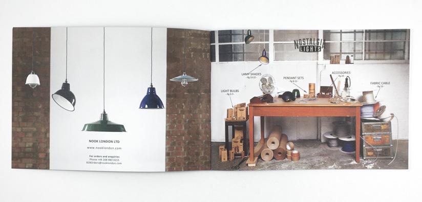 Nook London lookbook printing