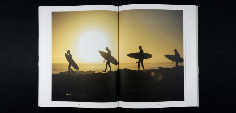 print a surfing photography book
