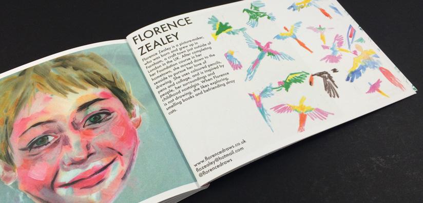 BA illustration degree show printing