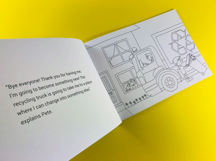 Size, layout and paper choices for Children's Book printing Ex Why Zed